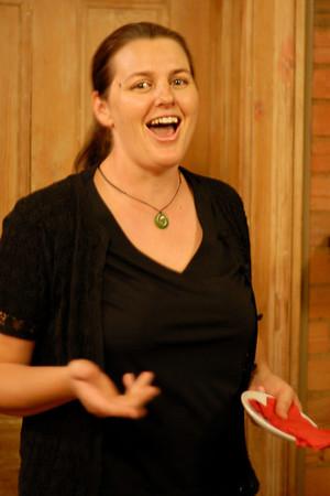 the singing waitress