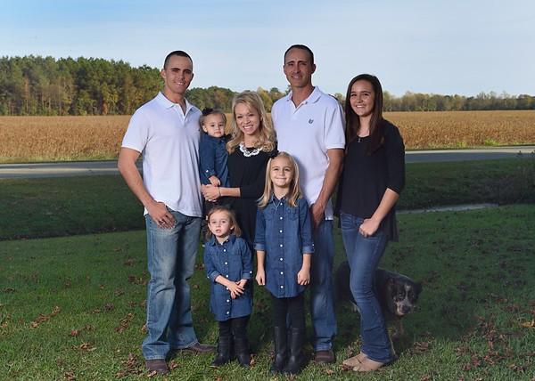 Erica & Trent Family Portraits