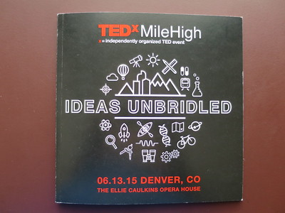 Weblink here: http://www.tedxmilehigh.com   .. After viewing a link, use your browser's back arrow to return to the album.