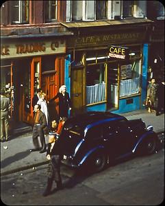 Street Scene London 1957