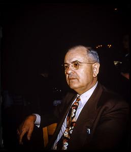 Former Louisiana  Senator Bill (William C) Feazel Schlitz Brewery 1952