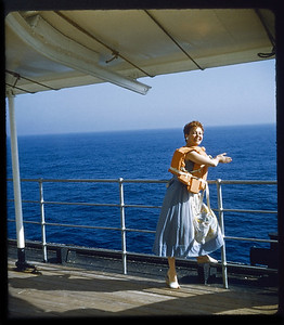 Estelle Sloan Cruise France 1957c13