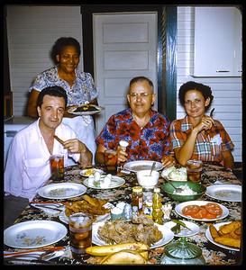 Sloan Family Dinner Cabin 1952