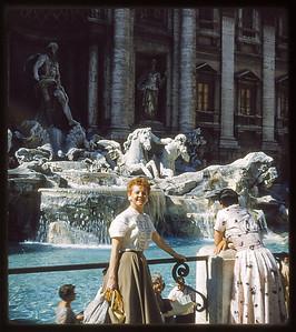 Estelle Sloan Fountain De Trevi