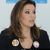 Eva Longoria Bastón campaigns for Hillary Clinton, Kissimmee, Florida - 14th October 2016 (Photographer: Nigel G Worrall)