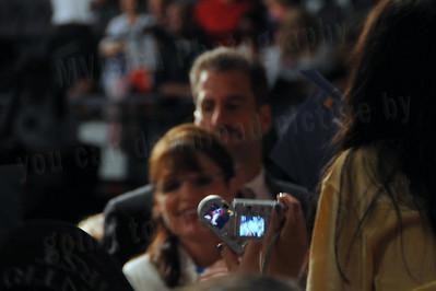 Palin 032   Micki Ferguson Photographer  Sarah Palin signs autographs at the Pensacola Civic Center. Pensacola Florida.