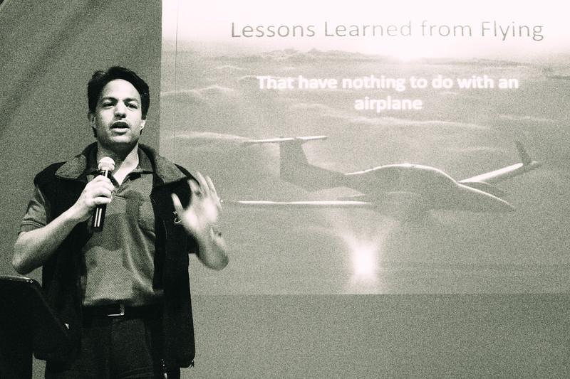 Kareem Shehata - Lessons from Flying