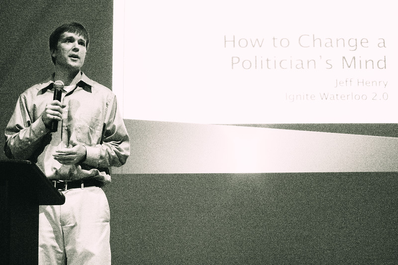 Jeff Henry - How to Change a Politician's Mind