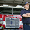 """Leominster firefighter Daniel Ciccone talks ab out recently taping an episode of """"Who Wants to Be a Millionaire"""" in Connecticut. SENTINEL & ENTERPRISE/JOHN LOVE"""