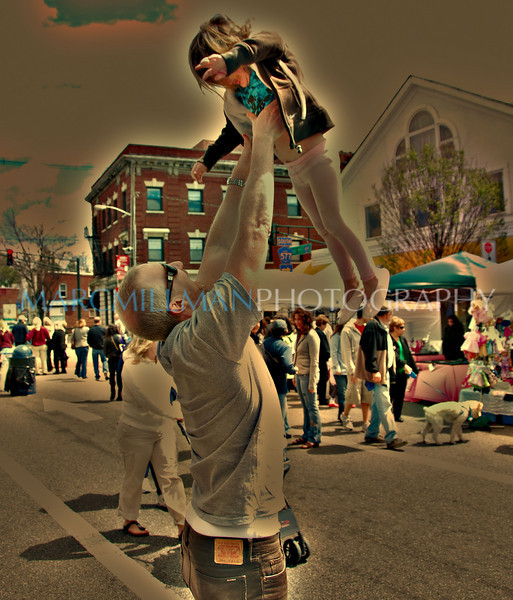 Amanda toss (Millburn Street Fair- Sun 4 18 10)