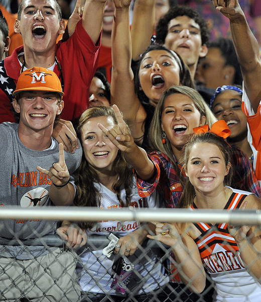The Mauldin Mavericks played host to the Wade Hampton Generals in a Region 2-AAAA football game.<br /> GWINN DAVIS PHOTOS<br /> gwinndavisphotos.com (website)<br /> (864) 915-0411 (cell)<br /> gwinndavis@gmail.com  (e-mail) <br /> Gwinn Davis (FaceBook)