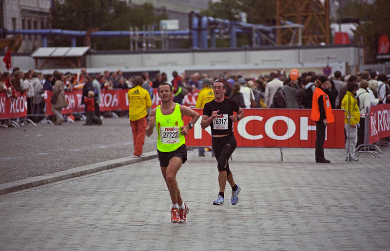 2007 Berlin Marathon, September
