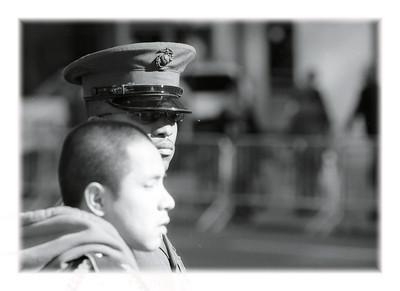 Visiting veterans