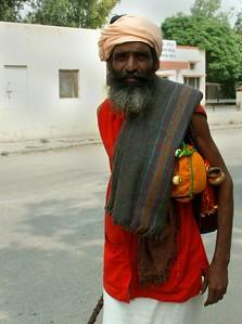 A Hindu Holy Man.