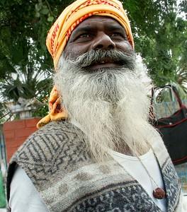 A Monk of Hinduism.  Ferozpur, Punjab. North India.