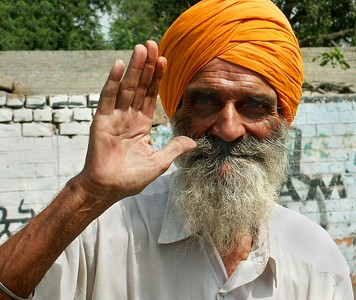 Friendly man. Ferozpur, Punjab. North India.
