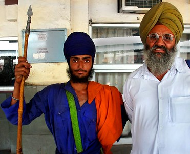Sikh Men of Punjab