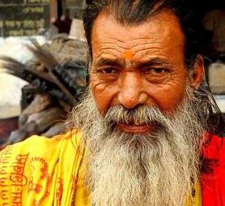 "Hindu ""Holy"" Man"