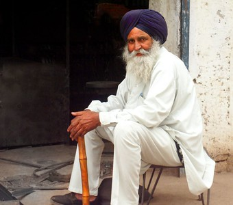 Sikh Man of Punjab