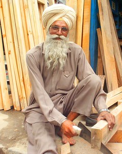 Carpenter of Punjab