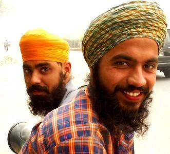 Sikh Men of Punjab