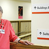 Globe/T. Rob Brown<br /> Faces of Recovery: Nova Kluseman volunteer with Mercy Hospital.