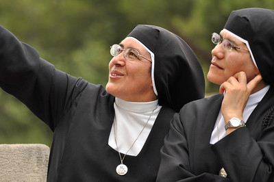 Nuns Contemplating