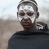 Maasai teenager after circumcision ceremony in Ngorongoro Conservation Area, North Tanzania, October 2011.