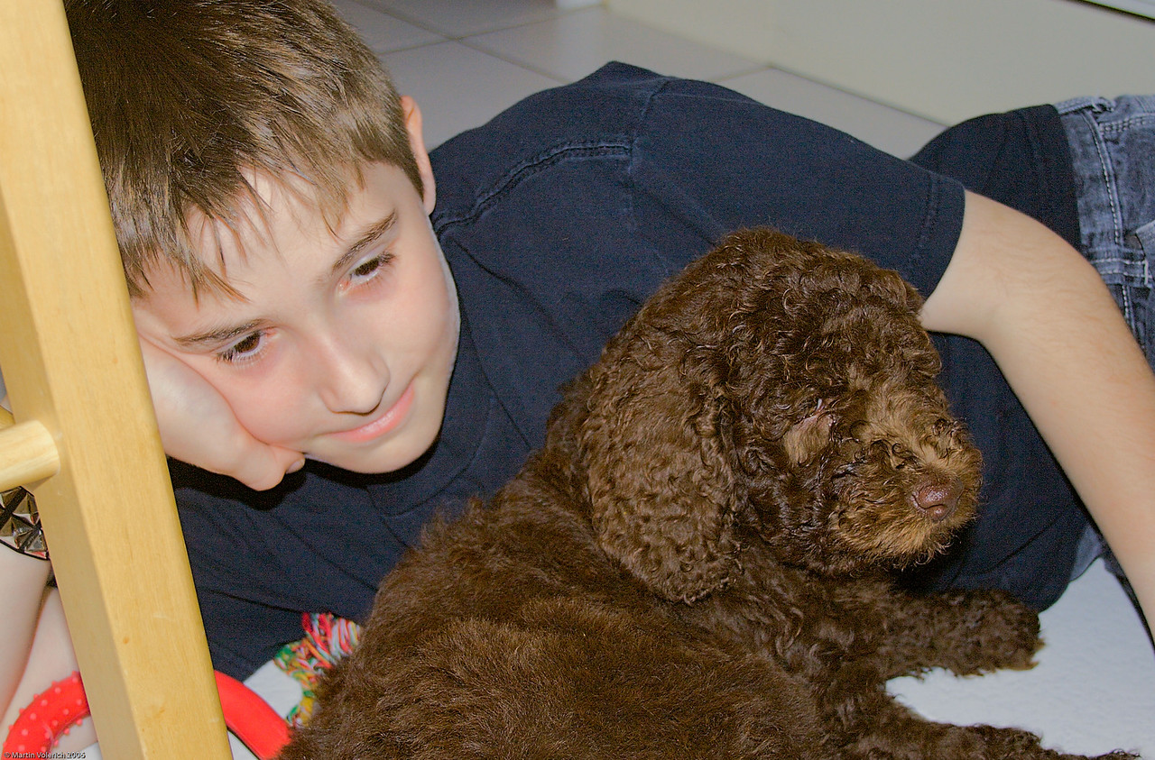 Jack and Teela the Puppy