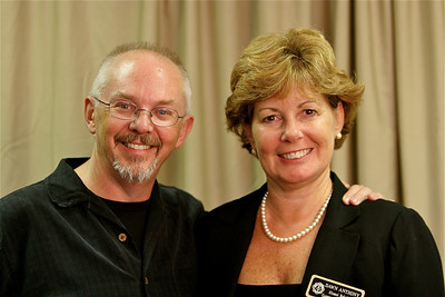 Dawn Anthony and Paul Young