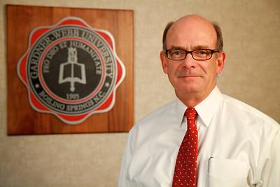 Dr. Frank A Bonner; President of Gardner-Webb University. August 2011