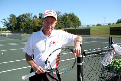 Tennis Coach Jim Corn
