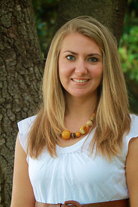 Admissions Counselor Kristen Poarch; Fall 2012.