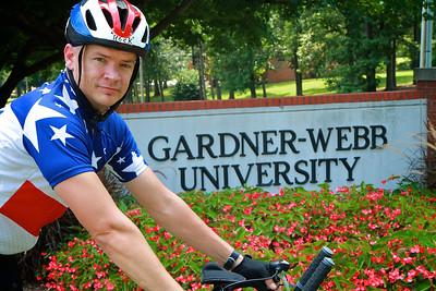 Gardner-Webb Plant Operations Employee Mark Anthony.