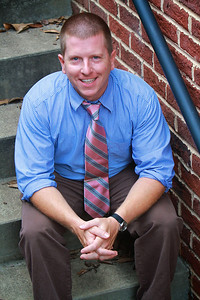 Admissions Counselor Micah Martin; Fall 2012.