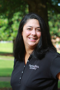 Admissions Counselor Miranda Hodge; Fall 2012.