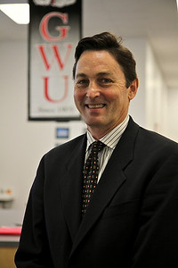 Monte Walker, VP of University Advancement, January 2011.