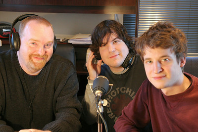 Hosts of WGWG's Cinema Scene 2009: Noel Manning, Chase Westbrook, Tyler Kucifer