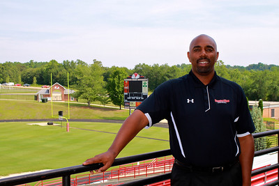 Football Head Coach Ron Dickerson Jr. August 2011.