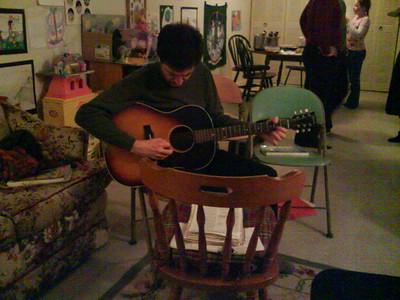 Rob + folk singing