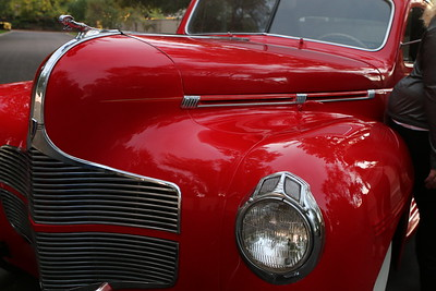 1940 dodge coupe red