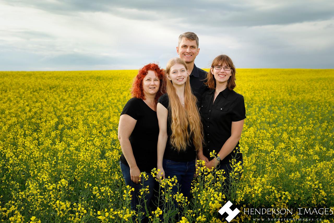 Family Canola Portrait