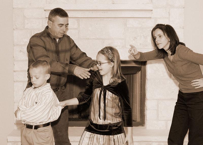 The Prewitt Family (sepia)