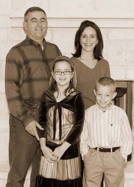 The Prewitt Family (sepia)