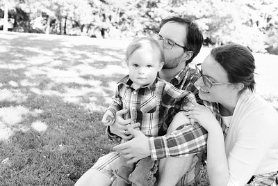 CP Van Woodward Family Session BW 0719-4