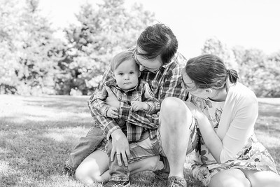 CP Van Woodward Family Session BW 0719-2