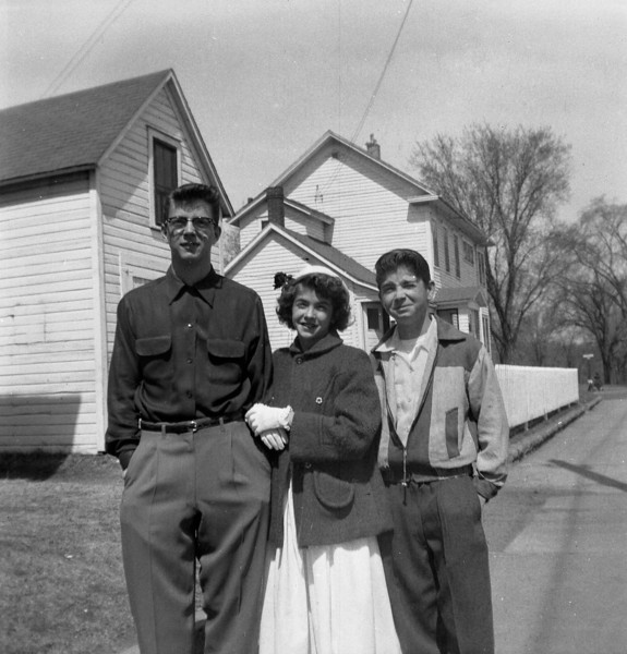 BILL, LAURA JEAN, FRANK SOLIE, SIBLINGS