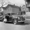 BILL SOLIE'S 1941 PLYMOUTH.........SECOND CAR 1954<br /> LAURA JEAN, LYLE & BILL SOLIE @ 809 27TH AVE SO., MPLS