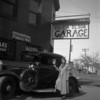LYLE SOLIE & PALMER OLSON'S GARAGE, PLYMOUTH AVE. N., MINNEAPOLIS DURING THE DEPRESSION OF 1929