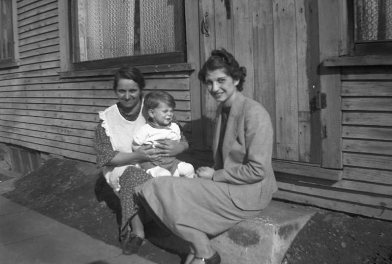 JENNY NATOLE (ANGELINE'S MOTHER), BILL SOLIE, MARY NATOLIE, (ANGELIN'S SISTER)